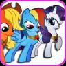 Pony Coloring app apk icon