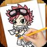 Learn To Draw Fairy Tail Manga app apk icon