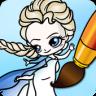 Coloring Pages Elsa Frozen app apk icon