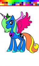 Little Pony Princess Paint Kid screenshot thumbnail