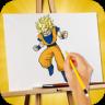 How To Draw Goku app apk icon