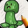 Draw Minecraft Chibi Edition app apk icon