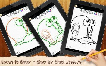 Learn To Draw Bob Sea Spunge screenshot thumbnail