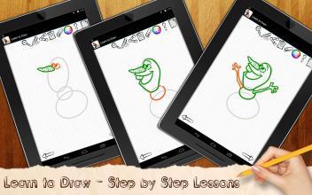 Drawing Lessons Ollaf Frozen screenshot thumbnail