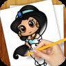 Drawing Lessons Chibi Anime app apk icon