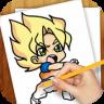 Learn To Draw Dragon Ball Z app apk icon