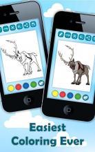 Coloring Pages Elsa Frozen screenshot thumbnail
